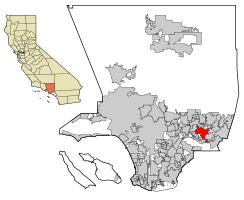 west covina ca map west covina california