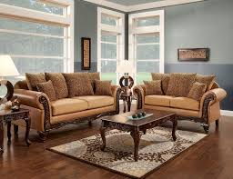 Print Fabric Sofas Accent Pillows For Sofas And Tatum Brown Leatherette Tan Fabric