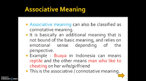 Types Meaning Types Of Meanings In Semantics Youtube