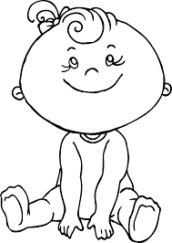 and boy coloring page coloring home