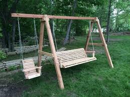 Backyard Swing Ideas Outdoor Porch Swing Ideas Design Outdoor Porch Swing A Frame