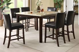 Bar Height Dining Room Table Sets Furniture Mesmerizing Tall Kitchen Tables High Dining Table