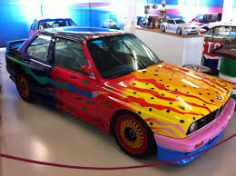 Bmw M3 1980 - bmw m3 e30 art car painted by australian ken done bmw museum