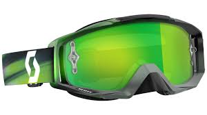 scott motocross goggles scott tyrant speed chrome works grey green offroad goggles