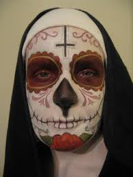 Nun Halloween Makeup by Day Of The Dead Nun Makeup By Rkettle On Deviantart