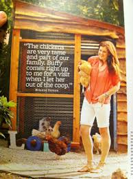 chicken coop idea out of better homes and gardens magazine
