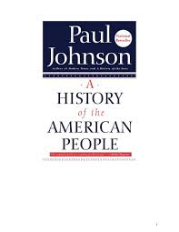 a history of the american people by paul johnson rom colonial pd
