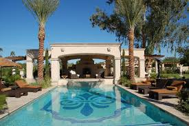 mediterranean designs pool tile designs pool mediterranean with arches covered porch