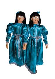 halloween animatronics sale animated evil twins