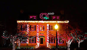 ohio state neon light total frat move the ohio state university
