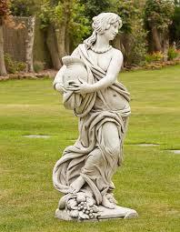gladiator goddess sculpture large garden statue