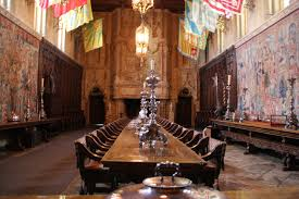 Hearst Castle Dining Room - Castle dining room