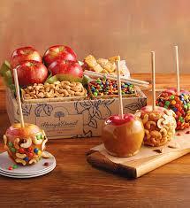 caramel apple boxes wholesale caramel apple kit caramel apples harry david