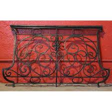 antique french iron balcony railing with bronze railing eron