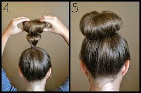 sock hair bun bun for hair