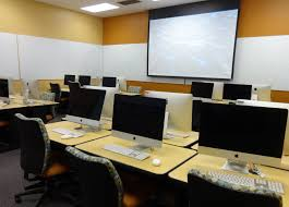 Classroom Computer Desk by Undergraduate Library Computer Lab Technology Services At Illinois