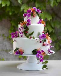 flower fondant cakes 25 amazing beach wedding cakes martha stewart weddings