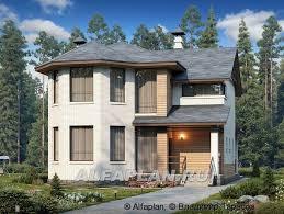 Hamill Creek Timber Homes Sugarloaf дом из бруса с эркером в два этажа и большими окнами 25 тыс