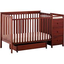4 In 1 Baby Crib With Changing Table Storkcraft 4 In 1 Crib And Changing Table Cognac