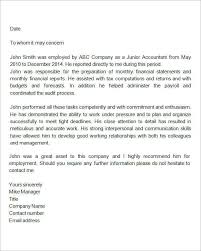 collection of solutions example recommendation letter from