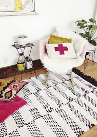 Pink And Black Rugs Floored By Design 11 Diy Rug Projects
