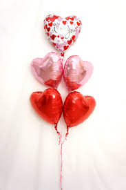 heart balloon bouquet express your with the blossoms of balloon bouquet 45cm