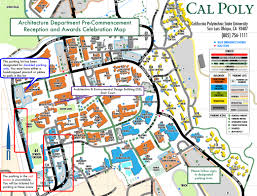 commencement ceremony information architecture cal poly san