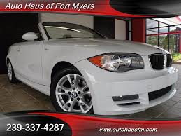 2009 bmw 128i convertible for sale 2009 bmw 128i convertible ft myers fl for sale in fort myers fl