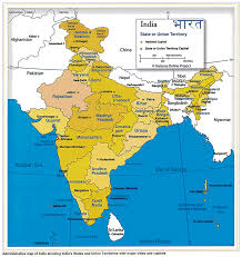 Map Of India With States by An Overview Of Spatial Policy In India