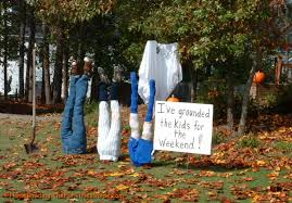 awesome ideas of creepy cool outdoor halloween decorations