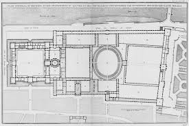 a plan of the louvre s cour carree and the making of the plan general au premier etage des batimens du louvre
