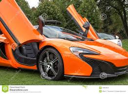 voiture de sport côté droit orange de voiture de sport photo stock image 42833832