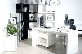 Executive Desk With Computer Storage Modern White Office Desk Beautiful White Modern Storage Office