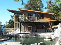 Pacific Northwest Modern House Plans Bird Mountain Home Designs