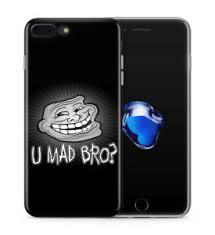 Iphone 4 Meme - u mad bro troll face meme funny case cover fits iphone 4 4s 5s 5c