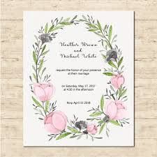 and in wedding card wedding card with a floral frame vector free