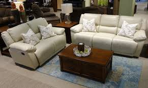 leather reclining sofa loveseat bermuda taupe leather reclining sofa and loveseat