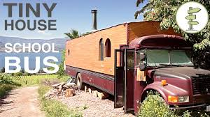 Designing A Tiny House by Bus Converted Into Full Time Tiny House Amazing Custom Rv