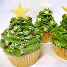 Tree Decorations For Cakes Gorgeous Christmas Cupcake Ornaments Decorations For Holidays