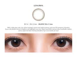 light grey contact lenses olens someday brown and gray monthly korean cosmetic color contact