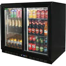 beer refrigerator glass door sliding 2 glass door commercial back bar bar fridge energy saving