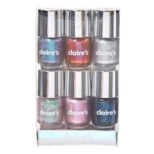 holographic shimmer nail polishes claire u0027s us
