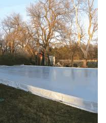 Backyard Ice Rink Kits by Ice Rink Tarps Ice Rink Liners Tarp Supply
