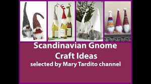 scandinavian gnome crafts ideas christmas crafts to make and