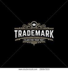 logo template calligraphic ornament lines stock vector