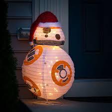 wars bb 8 lighted lawn ornament thinkgeek