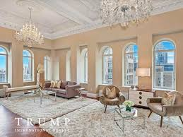 inside trumps penthouse a penthouse owned by trump s trust is on the market for us35