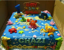 nemo cake toppers finding nemo cake decorating kit birthday topper cake ideas