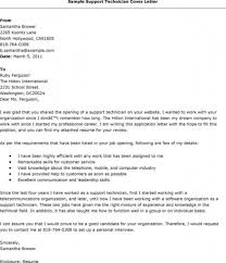 cover letter it support technician cover letter it support