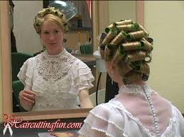 husband forced to sleep in hair rollers 162 best curler girls images on pinterest rollers in hair